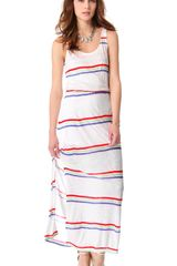 Splendid Hermosa Striped Maxi Dress - Lyst