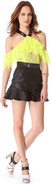 Three Floor High Voltage Romper - Lyst