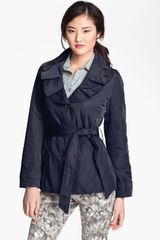 Weatherproof Pleat Collar Trench Coat Online Exclusive - Lyst