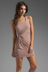 Bailey 44 Casbah Dress in Taupe - Lyst