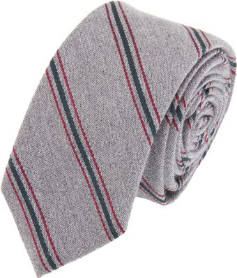 Band Of Outsiders Repp Tie - Lyst