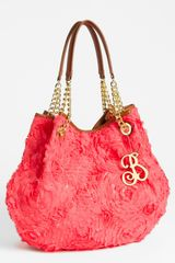 Betsey Johnson Rose Garden Tote - Lyst
