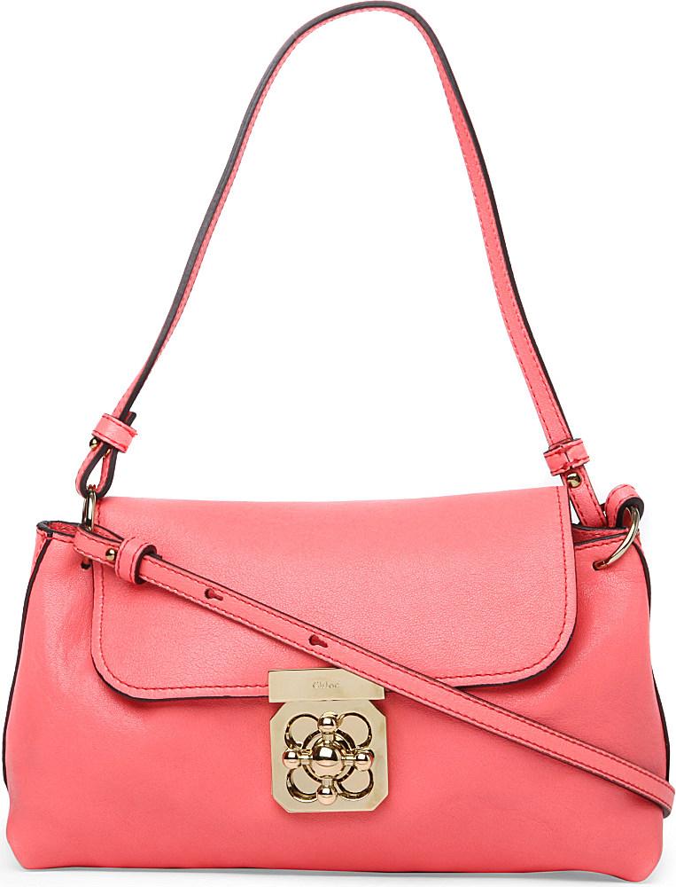 Chloé - Paraty Large leather shoulder bag - NET-A-PORTER