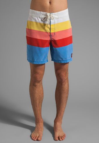 Insight Retro Daze Boardshort in Blue - Lyst
