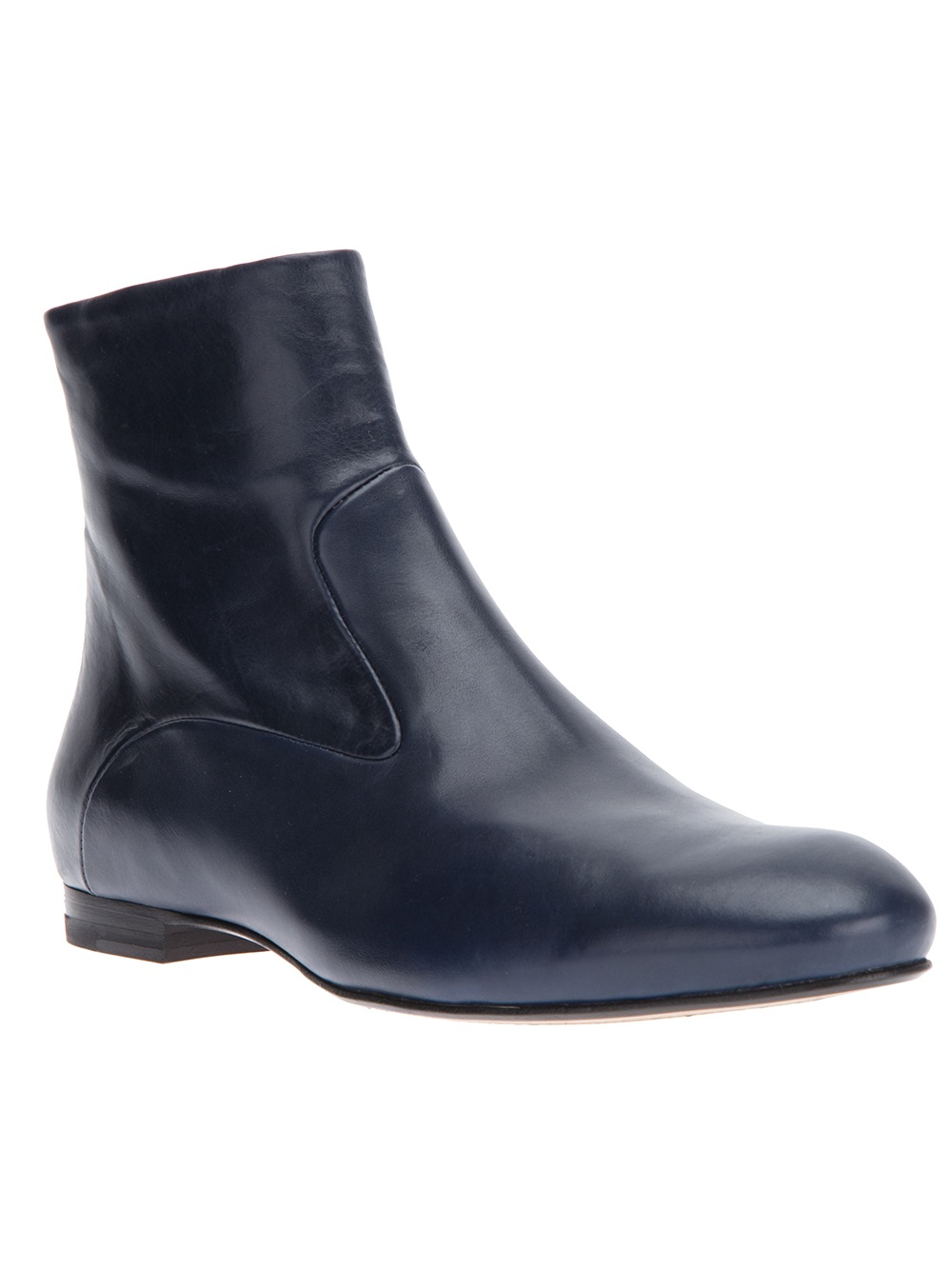 blue ankle boots for women