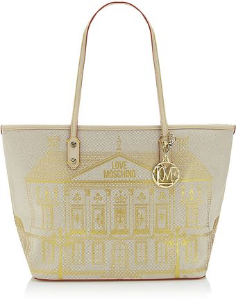 Love Moschino Medium House Print Shopper Bag - Lyst