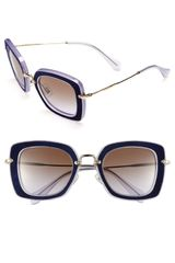 Miu Miu Retro Sunglasses - Lyst