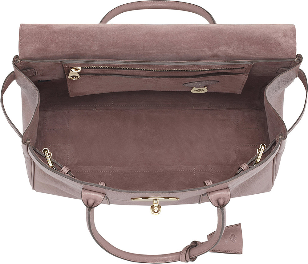 ca45888a5c2a Mulberry Bayswater Glossy Goat Leather Handbag in Pink - Lyst