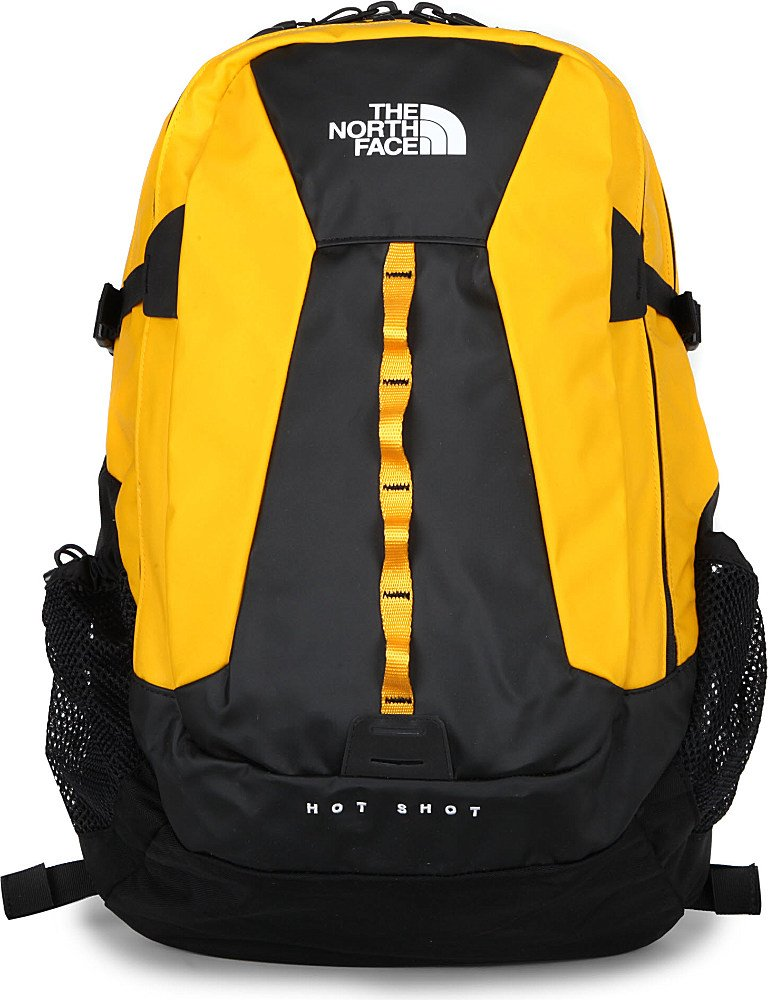 fd5766b784c The North Face Base Camp Hot Shot Backpack in Yellow for Men - Lyst