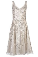 Oscar de la Renta Embellished Full Dress - Lyst