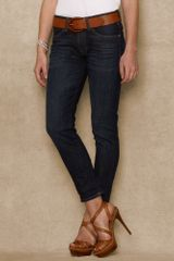 Ralph Lauren Blue Label Slim Boyfriend fit Jean - Lyst