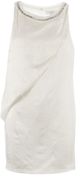 Robert Rodriguez Gem Detail Shift Dress - Lyst