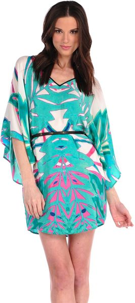 Twelfth Street by Cynthia Vincent Summer Leaf Belted Caftan - Lyst