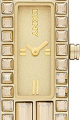 DKNY Goldplated Watch - Lyst