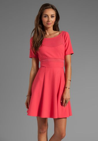 Elizabeth And James Selena Dress in Pink - Lyst