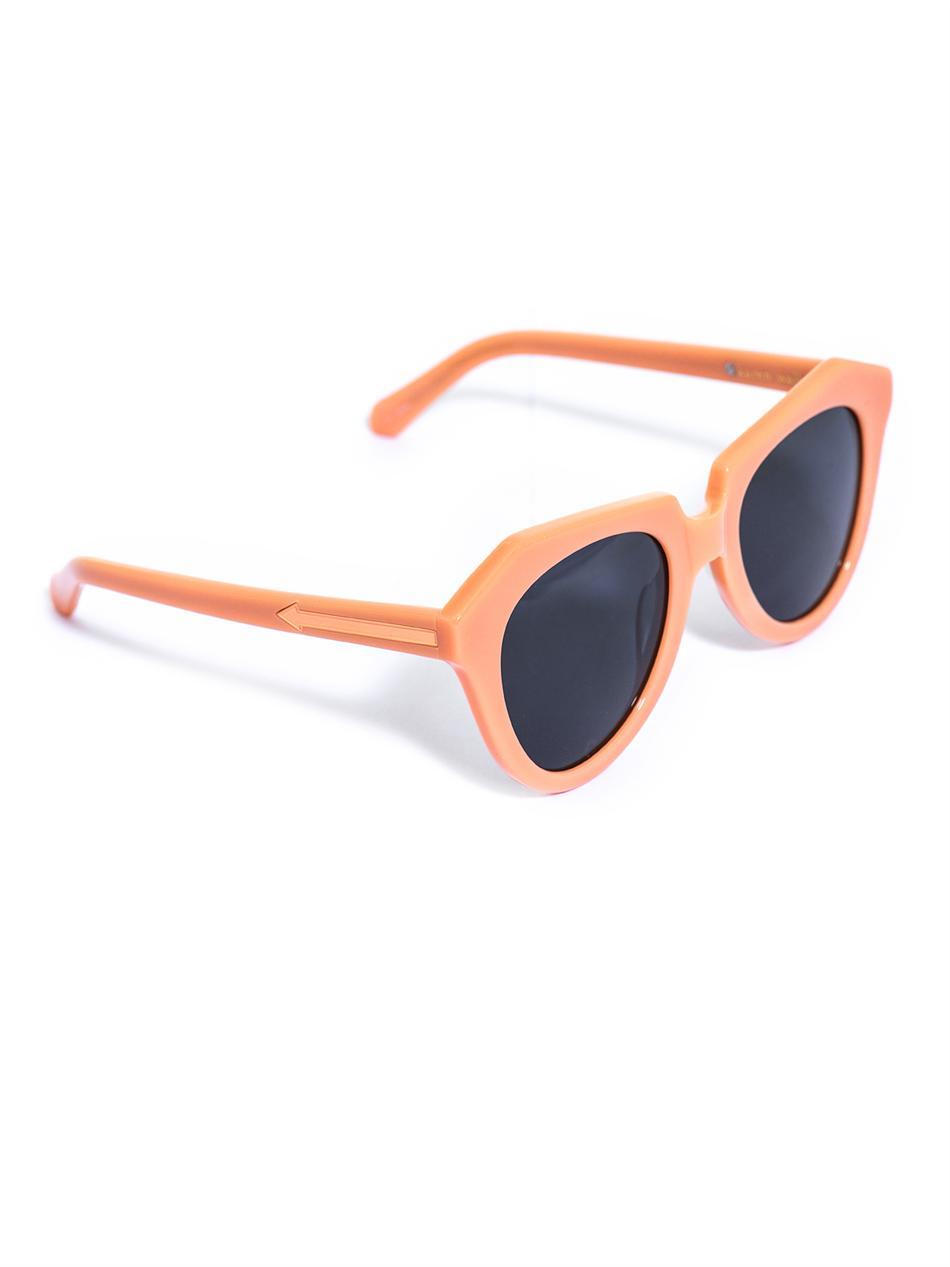 bb78b3099196 Lyst - Karen Walker Number One Sunglasses in Blue