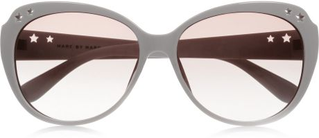 Marc By Marc Jacobs Round Frame Glasses : Marc By Marc Jacobs Round Frame Acetate Sunglasses in ...