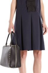 Marni Ruffle Panel Sleeveless Dress - Lyst