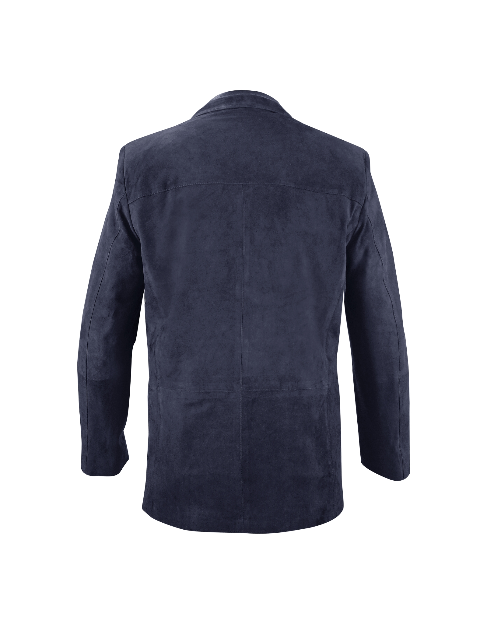 Lyst Moreschi Blue Suede Blazer Jacket In Blue For Men