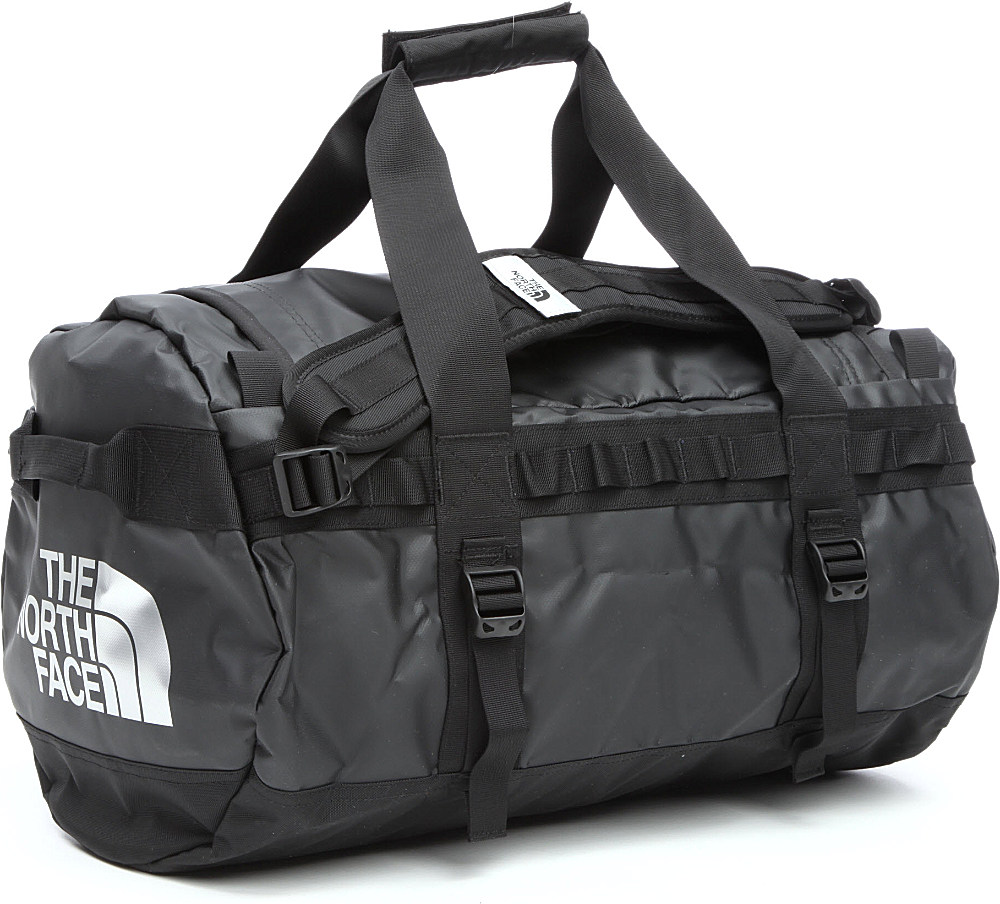 Gym Bag Xxl: The North Face Base Camp Small Duffel Bag In Black For Men