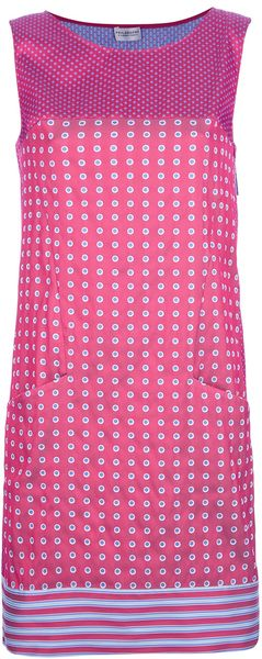 Philosophy di Alberta Ferretti Sleeveless Polka Dot Dress - Lyst