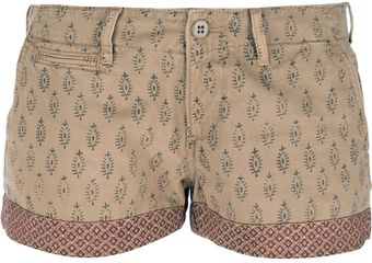 Ralph Lauren Patterned Chino Shorts - Lyst