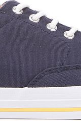 Ralph Lauren Vance Canvas Boat Shoes - Lyst