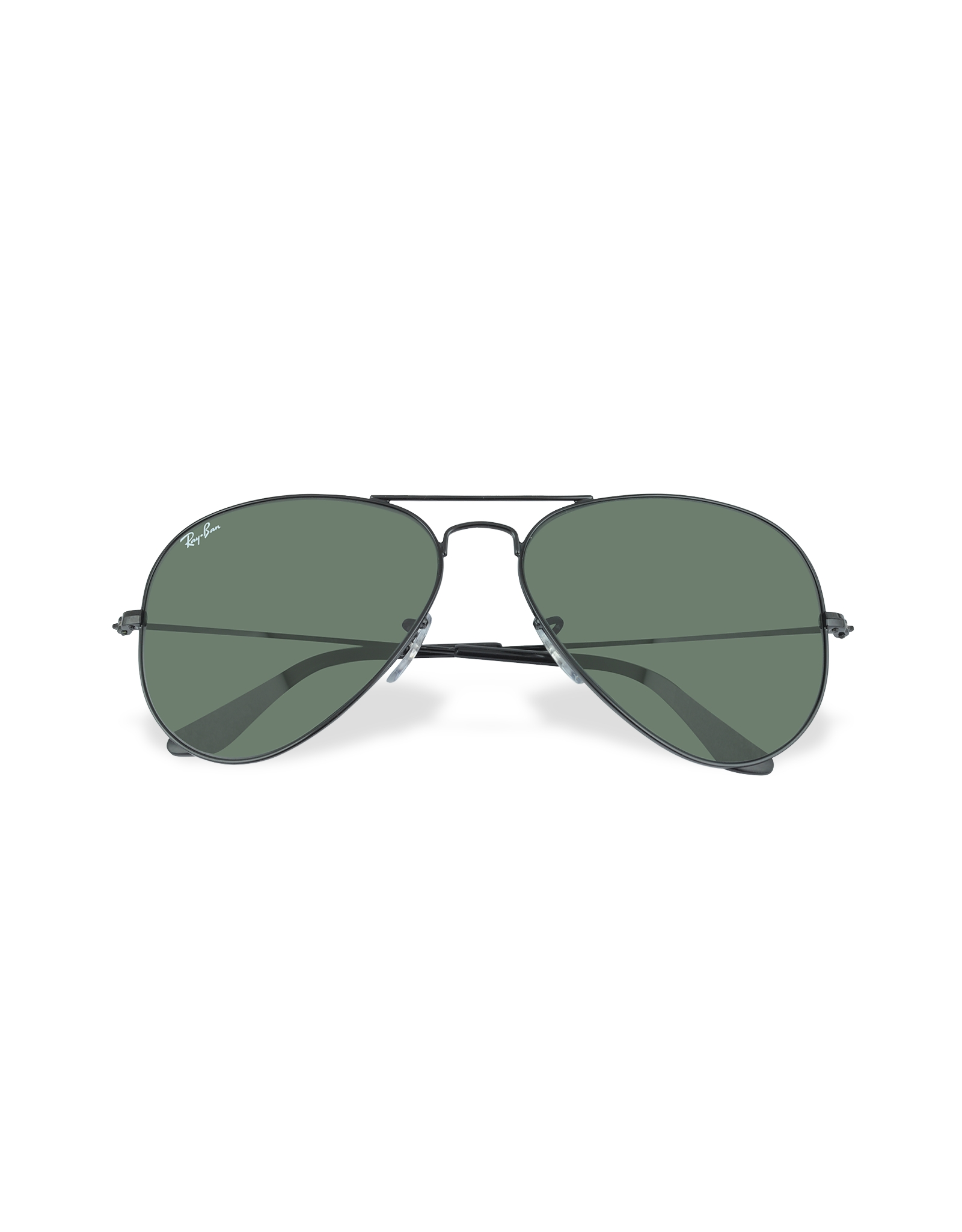 Ray-Ban Aviator - Large Metal Sunglasses in Black for Men