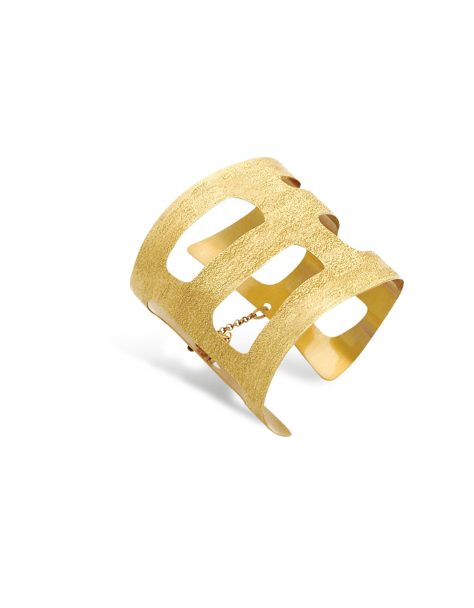 Stefano Patriarchi Gold Plated Hand Bracelet