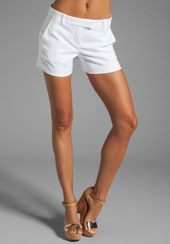 Theory Bennie L Shorts in White - Lyst