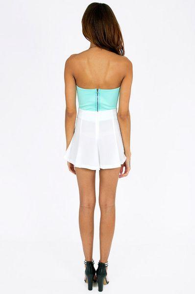Tobi Flirty Short Skirt in White | Lyst