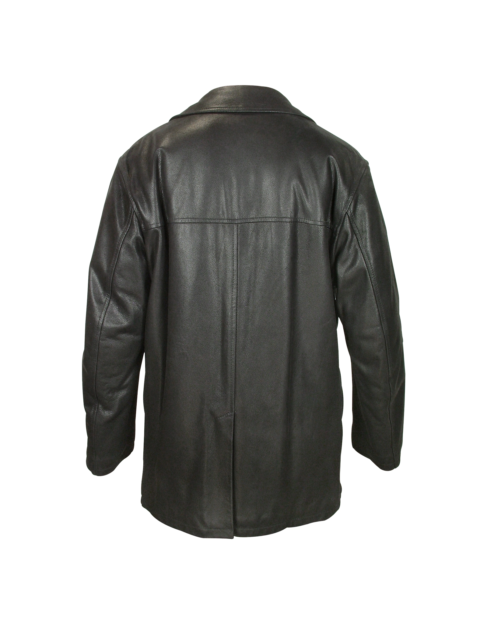 lyst forzieri mens black leather jacket in black for men
