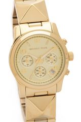 Michael Kors Pyramid Runway Watch - Lyst