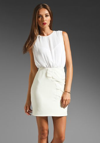 Camilla & Marc Eden Dress in White - Lyst