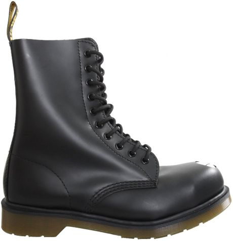 Dr Martens Classic Maine Boot Black In Black For Men Lyst