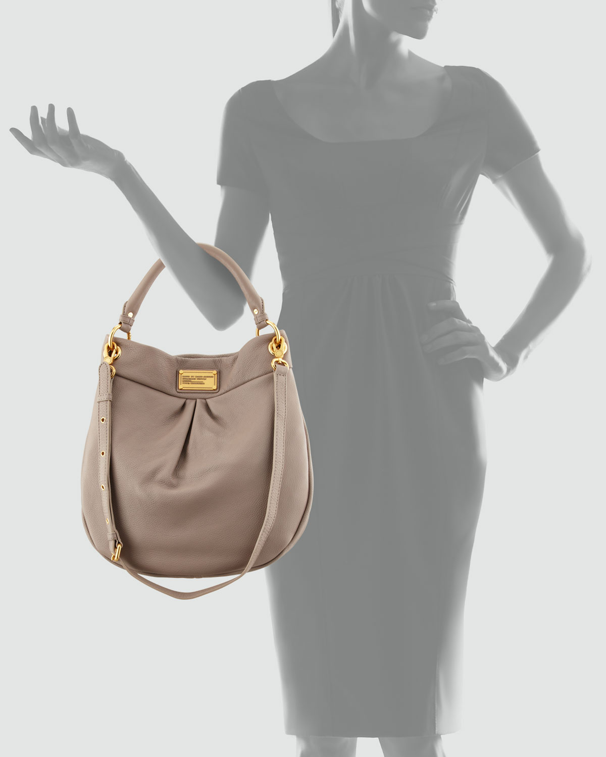 Lyst Marc By Marc Jacobs Classic Q Hillier Hobo Bag In