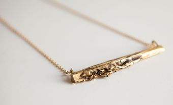 Vim Beget Brass Aridus Necklace - Lyst