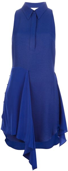 3.1 Phillip Lim Short Sleeveless Blouse Dress - Lyst