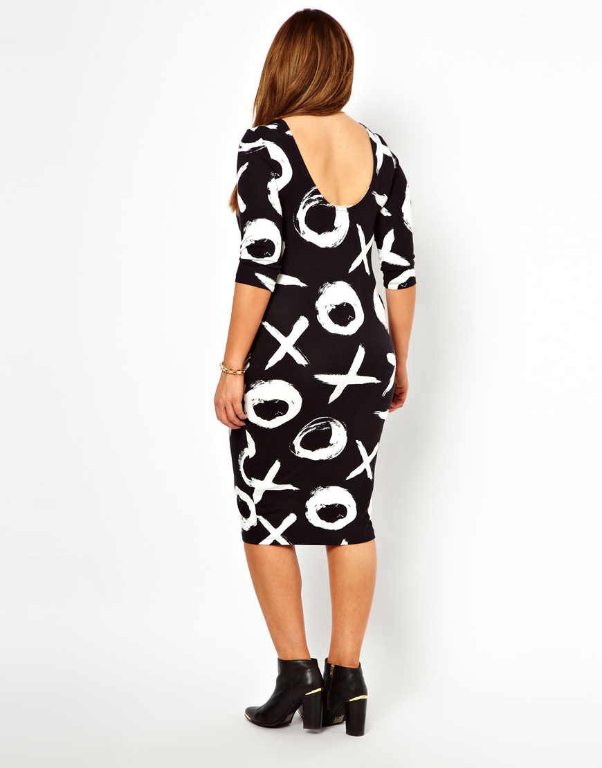 Xoxo Print Dress