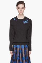 Christopher Kane Cashmere Embroidered Sweater