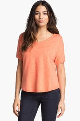 Eileen Fisher V-Neck Top - Lyst