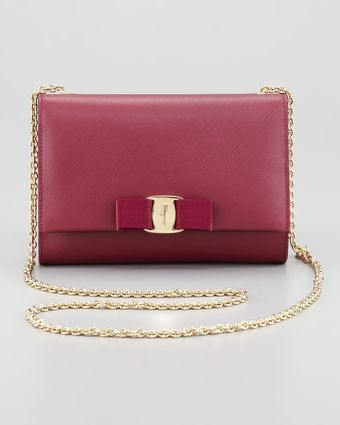 Ferragamo Miss Vara Mini Flaptop Crossbody Bag - Lyst