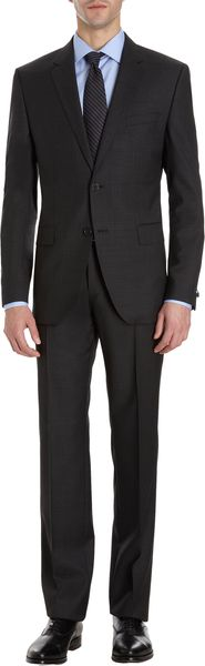 Hugo Boss Cross Hatch Twopiece Suit - Lyst