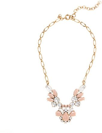 J.Crew Crystal Feather Necklace - Lyst