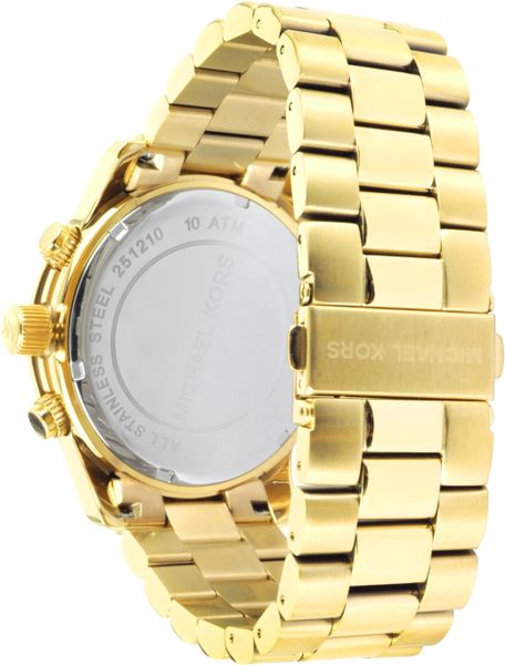 Gold Tone Watches Watch in Gold For Men