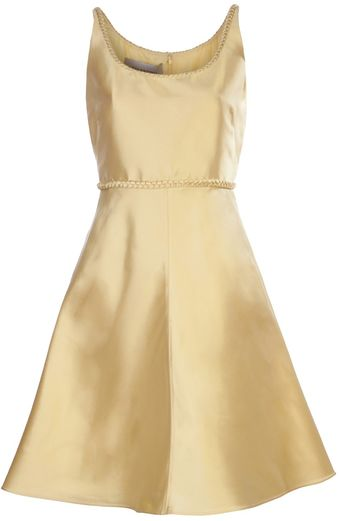 Valentino Sleeveless A Line Dress - Lyst