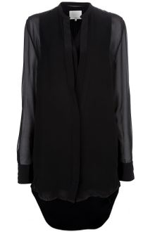 3.1 Phillip Lim Dropped Hem Dress - Lyst
