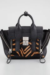 3.1 Phillip Lim Pashli Mini Calfhair Leather Satchel - Lyst