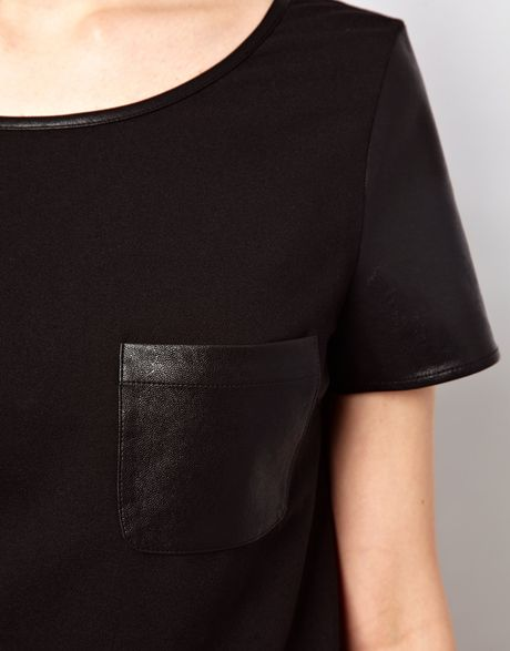 Cover your body with amazing Black Leather t-shirts from Zazzle. Search for your new favorite shirt from thousands of great designs! Sleeve length. Short Sleeve FASHIONABLE WOMAN PARIS COFFEE CAFE BLACK LEATHER T-Shirt. $ 20% Off with code SATURDAYSHOP ends today. Black Leather Armchair Womens T-Shirt. $ 20% Off with code.