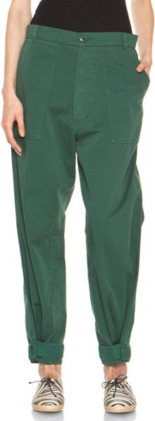 Boy by Band Of Outsiders Tapered Leg Pant in Green - Lyst